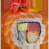 Авторский ролл Ebi Salmon заказать суши min