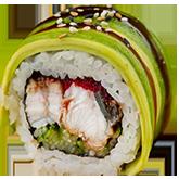 Ролл Зеленый дракон заказать суши min