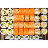 Суши-бокс Краш-Лосось 1кг заказать суши min