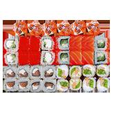 Суши бокс Микс лосось 1кг заказать суши min